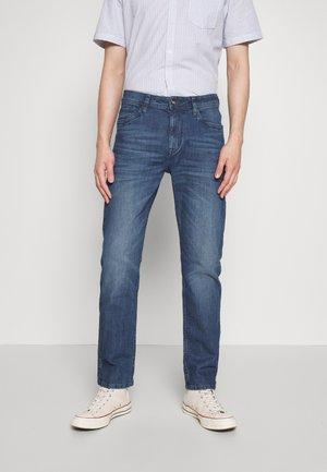 TRAD - Straight leg jeans - dark stone wash denim