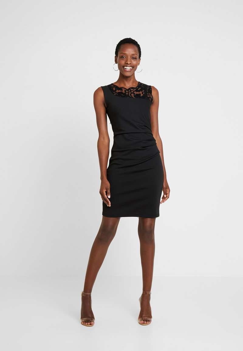 Kaffe - INDIA VIVI DRESS - Shift dress - black deep
