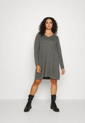 MSHAPE DRESS - Jumper dress - dark grey melange