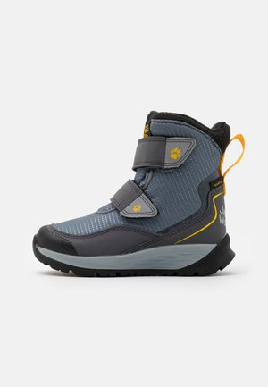 POLAR BEAR TEXAPORE HIGH UNISEX - Snowboots  - pebble grey/burly yellow
