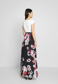 Apart - PRINTED DRESS - Maksimekko - black/multicolor - 2