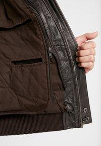 Serge Pariente - PILOT - Leather jacket - dark brown - 6