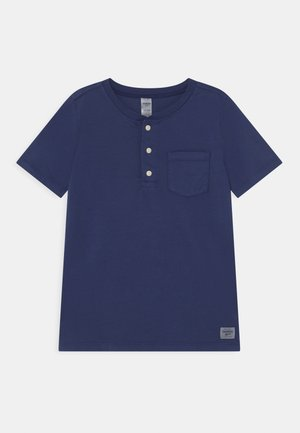 HENLEY - Camiseta estampada - blue