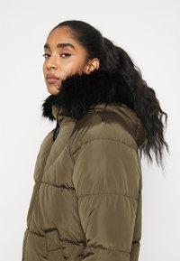 ONLY - ONLMONICA LONG PUFFER COAT  - Winter coat - beech - 4