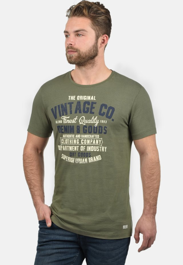 VADIM - T-shirt con stampa - dusty olive