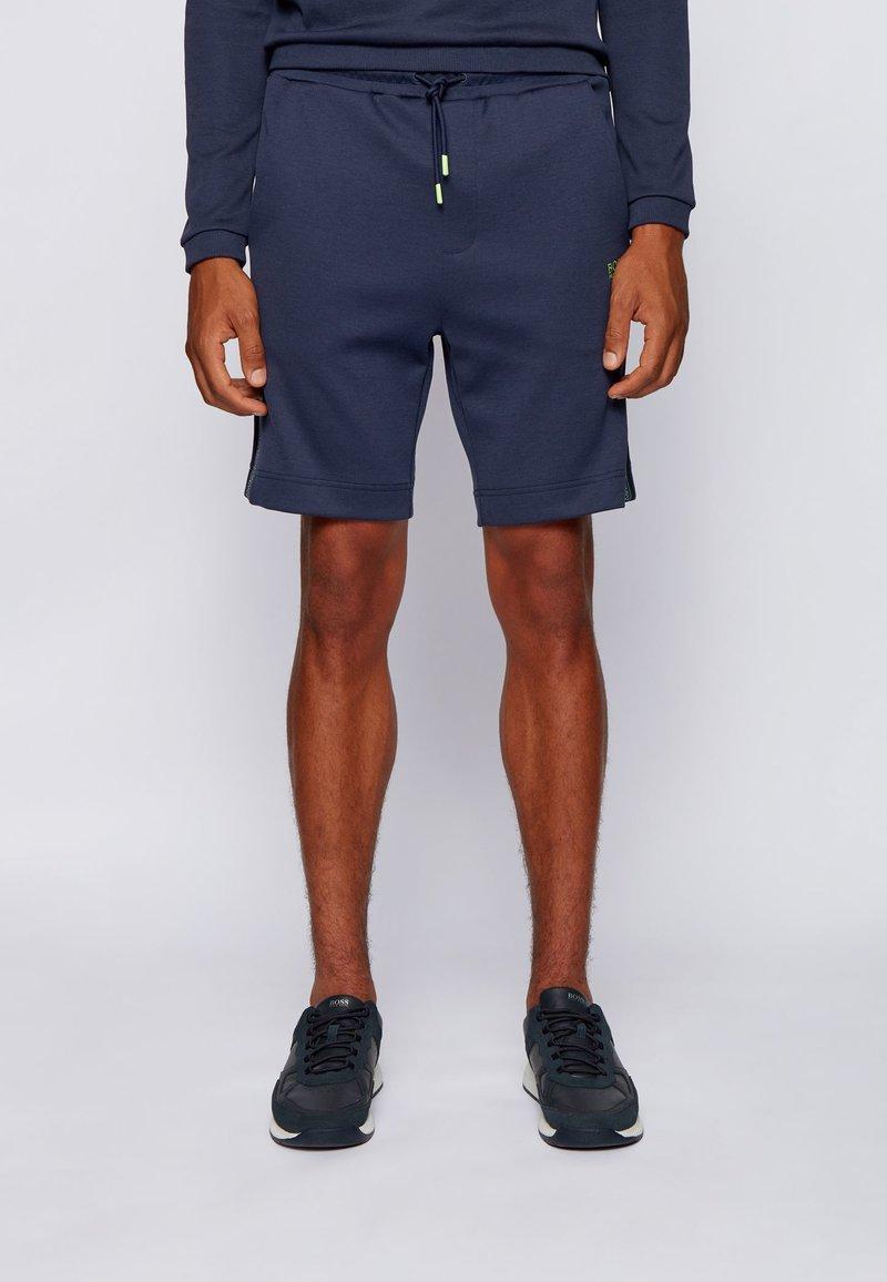 BOSS - HEADLO ICON - Jogginghose - dark blue