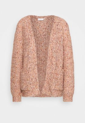 NANIKA CARDIGAN - Strickjacke - canyon clay melange