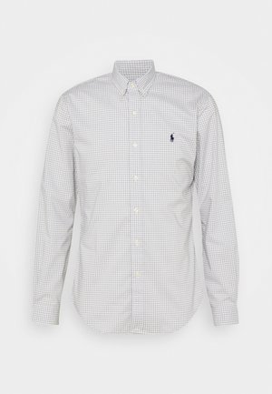 LONG SLEEVE - Koszula - grey/white