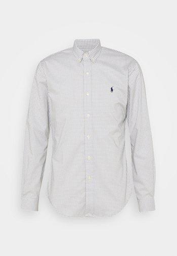 LONG SLEEVE - Shirt - grey/white