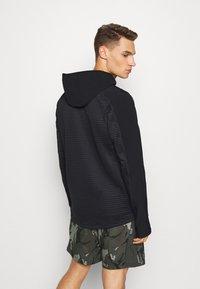 adidas Performance - TRAINING HOODED TRACKSUIT JACKET - Zip-up hoodie - black - 2