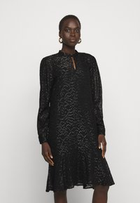 Bruuns Bazaar - ALEXANDRIA CAMARI DRESS - Shirt dress - black - 0