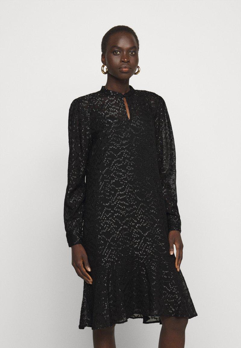 Bruuns Bazaar - ALEXANDRIA CAMARI DRESS - Shirt dress - black