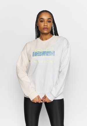 Sweatshirt - pearled ivory