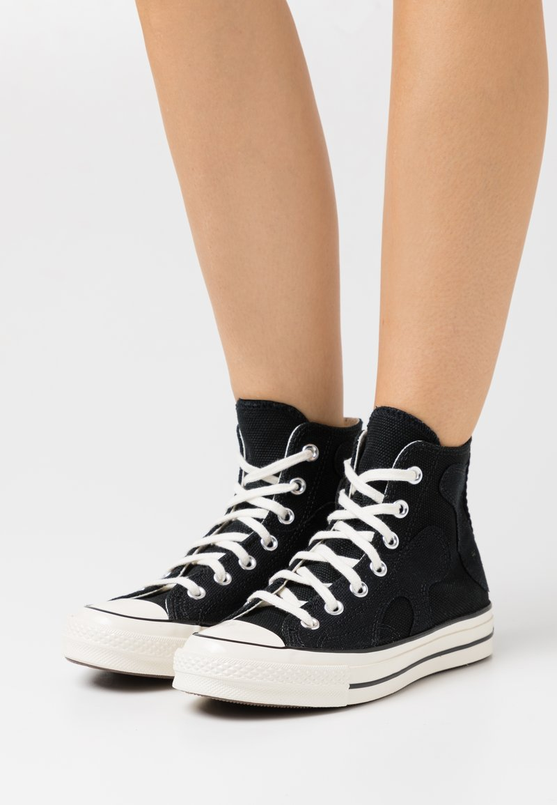Converse - CHUCK 70 - Korkeavartiset tennarit - black/egret/almost black