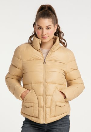 Winter jacket - camel