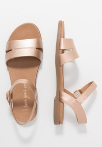 New Look Wide Fit - WIDE FIT GREAT - Sandales - rose gold - 3