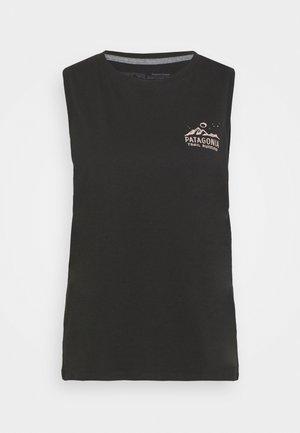RIDGELINE RUNNER MUSCLE TEE - Top - black