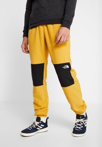 The North Face - GLACIER PANT - Spodnie treningowe - yellow/black - 0