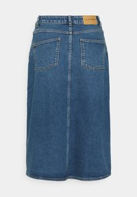 Carin Wester - SKIRT HOUSTON - Denimová sukně - denim blue - 6