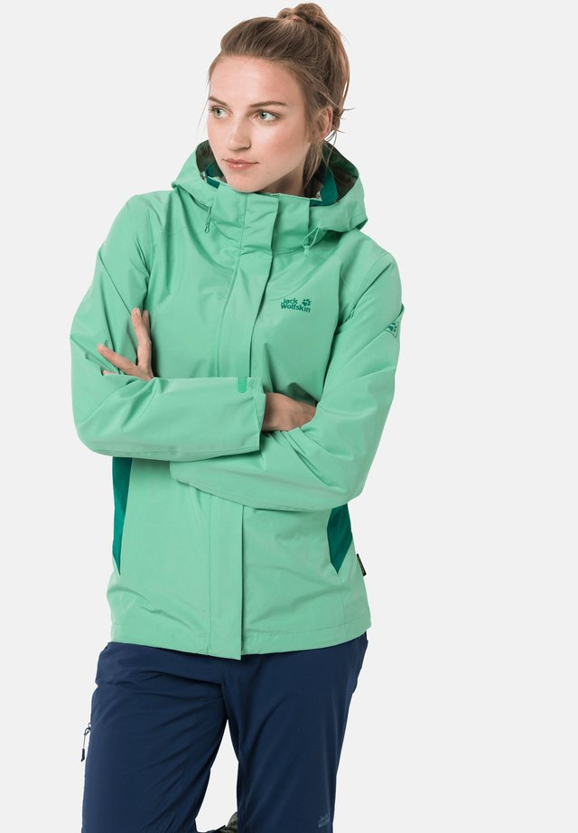 SAVOIA PEAK - Hardshell jacket - pacific green