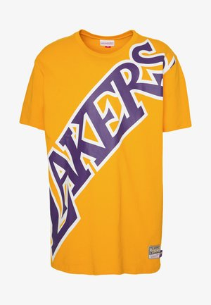 NBA LA LAKERS BIG FACE LAKERS TEE - Article de supporter - gold