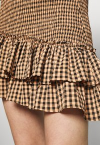 Mossman - THE CHECKED OUT SKIRT - Minirok - orange - 5