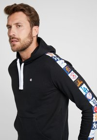 Champion - MLB MULTITEAM HOODED - Sweat à capuche - black - 3