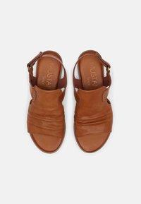 Mustang - Sandals - cognac - 4