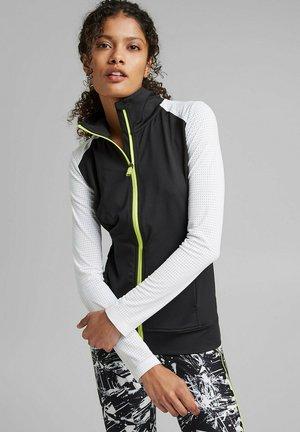 MIT E-DRY - Zip-up sweatshirt - black