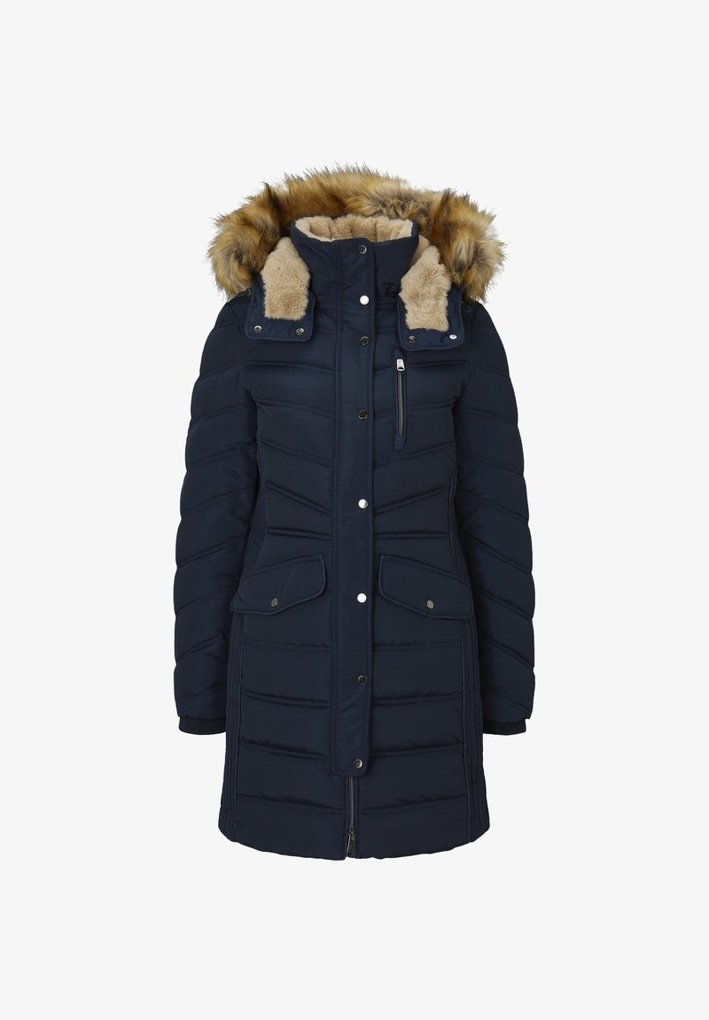 TOM TAILOR - SIGNATURE PUFFER COAT - Winter coat - sky captain blue