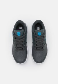 K-SWISS - COURT EXPRESS CARPET UNISEX - Carpet court tennis shoes - dark shadow/white/swedish blue - 3