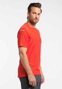 Haglöfs - L.I.M TECH TEE - Print T-shirt - orange - 2