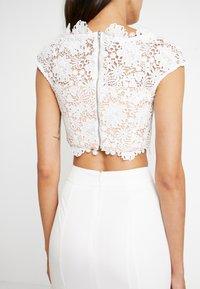 Jarlo - FARAH SET - Maxi skirt - white - 4