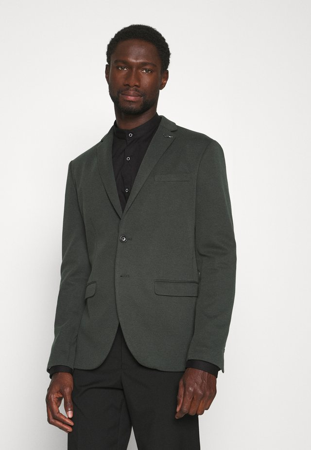 SLHSLIM COLE - Blazer jacket - dark green