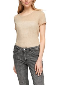 QS by s.Oliver - Blouse - beige - 5