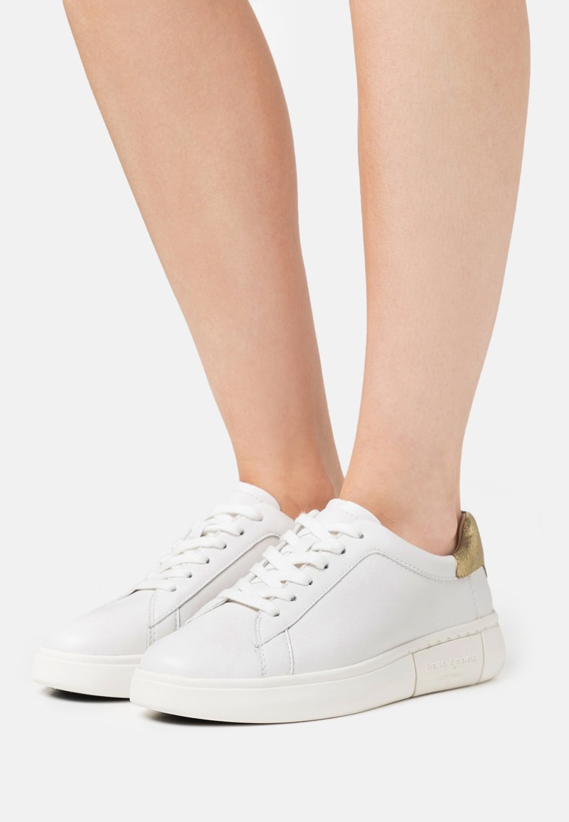kate spade new york - LIFT - Trainers - optic white/gold