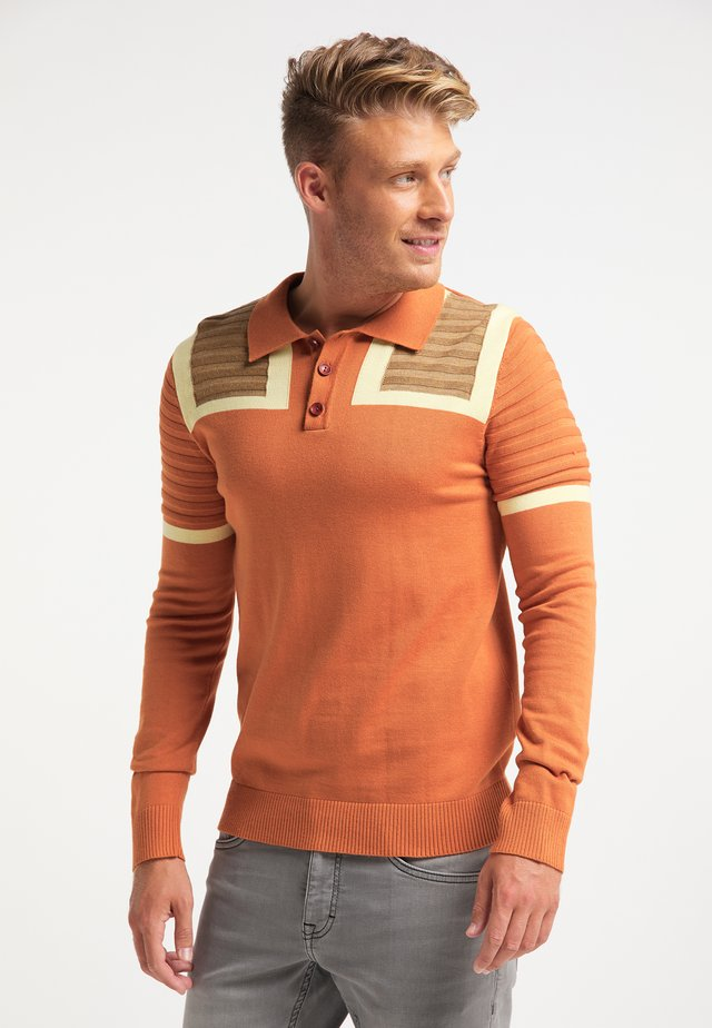 Polo shirt - multicolor rost
