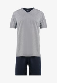 TOM TAILOR - SHORTY V-NECK - Pyžamo - dark blue - 5