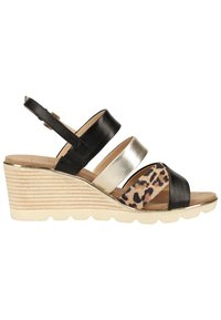 Caprice - Wedge sandals - leo comb 939 - 5