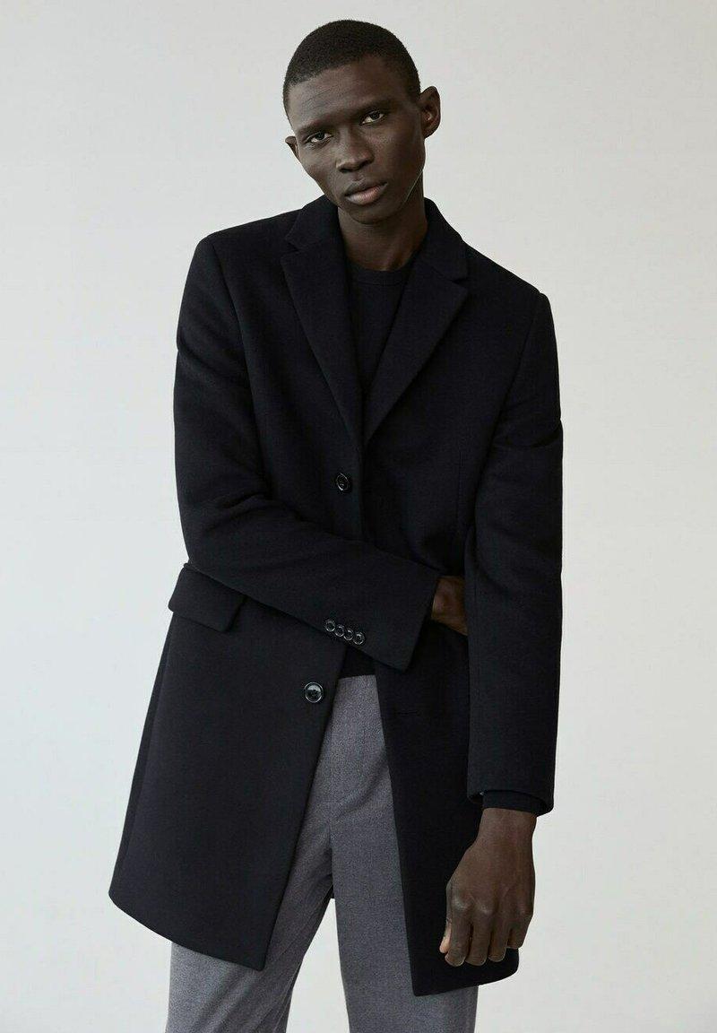 Mango - ARIZONA - Classic coat - schwarz