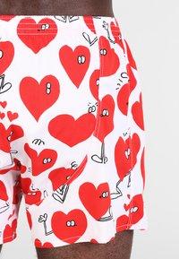Lousy Livin Underwear - VALENTINES - Trenýrky - white - 2