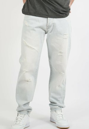 NEW TORN - Relaxed fit jeans - white