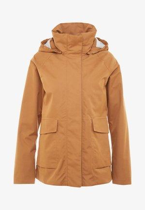 UNN WOMENS JACKET - Outdoor jacket - almond brown