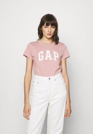 TEE - T-shirt z nadrukiem - antique pink