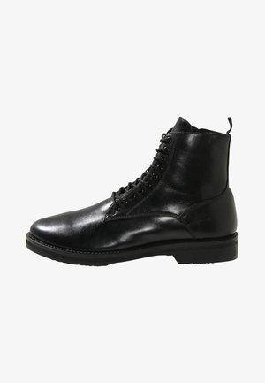 JAZZ LACE UP BOOT - Bottines à lacets - black