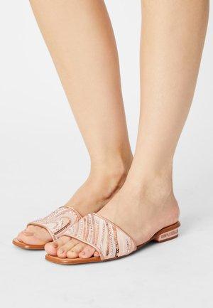OLEDIA - Mules - light pink