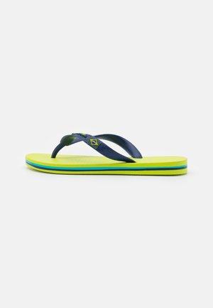 CLAS BRASIL II KIDS - Pool shoes - green/blue