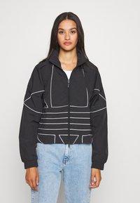 adidas Originals - Training jacket - black/white - 0