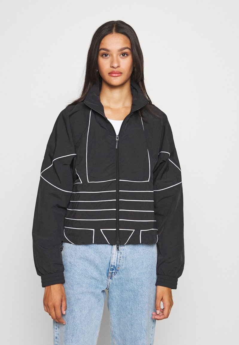 adidas Originals - Training jacket - black/white
