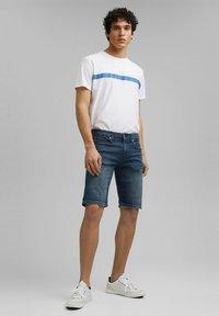 edc by Esprit - Szorty jeansowe - blue dark washed - 3
